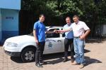 Secretaria de Obras recebe carro em doação