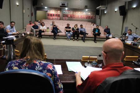 Reunião das Comissões contou com a presença do Condemas, Associação Ecobé e representantes da Administração Municipal de Lajeado