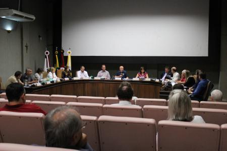 Principal assunto tratado na reunião das Comissões foi a entrega do ofício ao HBB