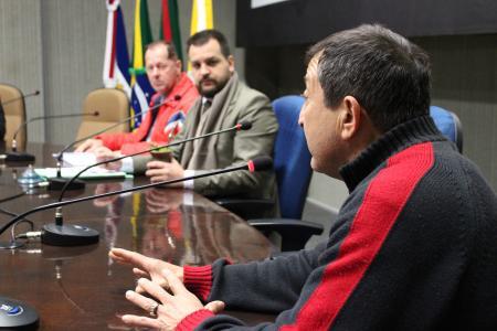 Ecônomo do quiosque do Parque dos Dick participou da reunião das Comissões desta quinta-feira, dia 7