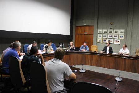 Presidente Neca Dalmoro retornou ao trabalho e participou da reunião das Comissões desta terça-feira, dia 12.