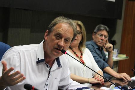 Vereador Sergio Rambo (PT) pediu vistas para o veto parcial ao CM 046.