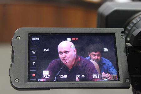 O suplente Carlos Andre Musskopf (PT), o Carlão, assumiu a cadeira do vereador Sérgio Rambo por 15 dias.