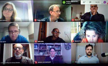 Em sessão virtual, vereadores aprovam sete projetos