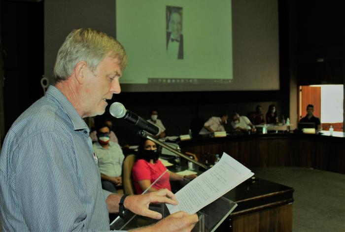 Câmara Presta Homenagem Póstuma aos ex-vereadores Nelson Motta e Wilson Jacques