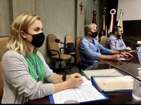 Gerente da CORSAN presta esclarecimentos à Comissão