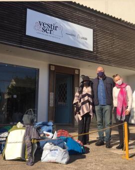 Câmara inicia entrega de agasalhos arrecadados na Campanha do Agasalho 2021